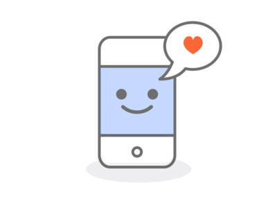 Happy iPhone happy chat contact smile cute app icon iphone