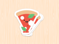 Pizza Sticker