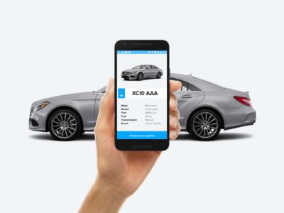FindMyCar app scan license plate car carwow hackweek android app
