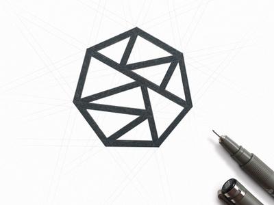 Gienet design branding logo