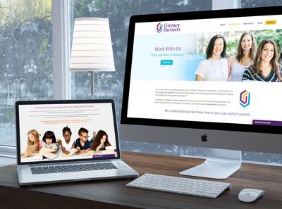 Literacy Partners WordPress Web Design