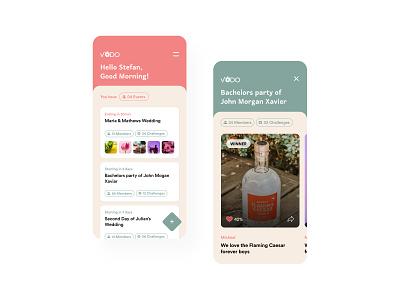 Vodo - Event Planning App Concept fashion daily ui concept design app srilanka wedding planning event