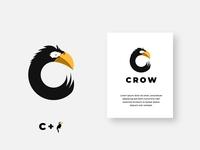 Crow vector graphic design design logo illustration logo mark branding