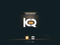 K-R Letter Logo app logo 2020 branding ui vector icon graphic design design logo logo mark