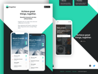 Dogether landing page close-up