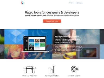Pencil Case - New Landing Page