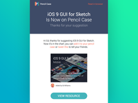 Pencil Case Notification Email - Suggestion Added