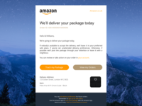 Amazon Notification Email (Unofficial)