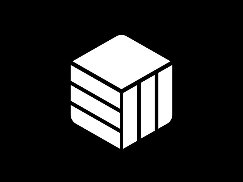 Ew logo hexagon cube
