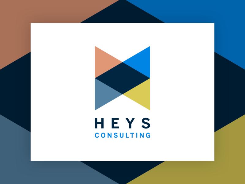 Heys Consulting Alternative Unused Logo unused alternative alternate heys h brand logo