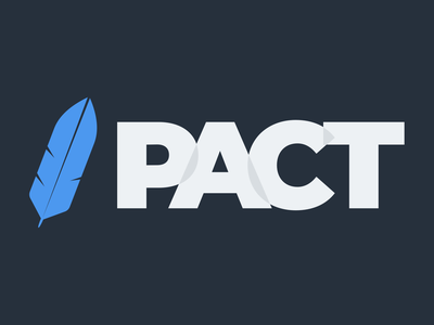 Pact quill feather logo pact