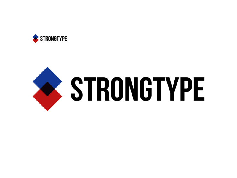 StrongType Logo Concept 2