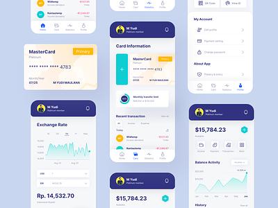 Payment App business app modern app minimal app dashboard earning card wallet wallet app payment app finance clean app ui payment