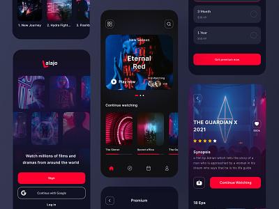 Movie App Concept app design video player streaming plan movie ux design ui design uiux mobile app app movie app branding