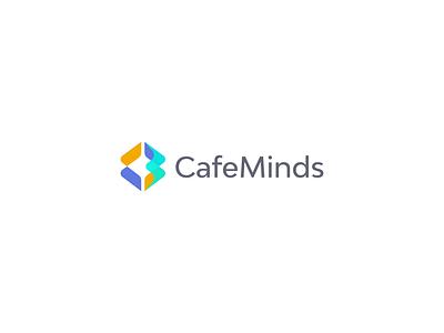 Cafe Mind Logo Design logo logo animation animation simple logo modern logo minimal logo design illustration icon design clean logo branding brand design