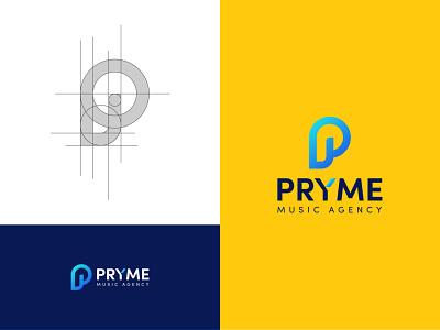 P Logo Design brand design design process logo grid music logo p logo p p logo logo design modern logo logo clean logo branding