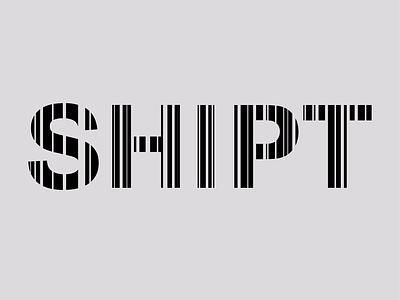 SHIPT Logo Redesign delivery spaceship logodesign logotype logo grocery grocerydelivery target shipt barcode adobe illustrator