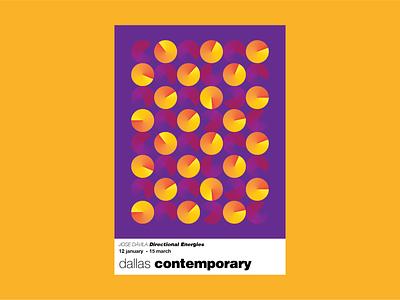 Directional Energies Poster gradient geometric minimal instalationart architecture mexico sculptors modernsculptor modernsculpture sculptor contemporary josedavila dallascontemporary contemporaryart modernart