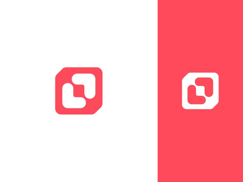 L + P Concept Branding dribbble best shot dribbble invite dribbble logo design vibrant flat logo vector geometric branding design icon modern minimal