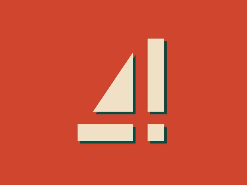 4th December advent typography illustration