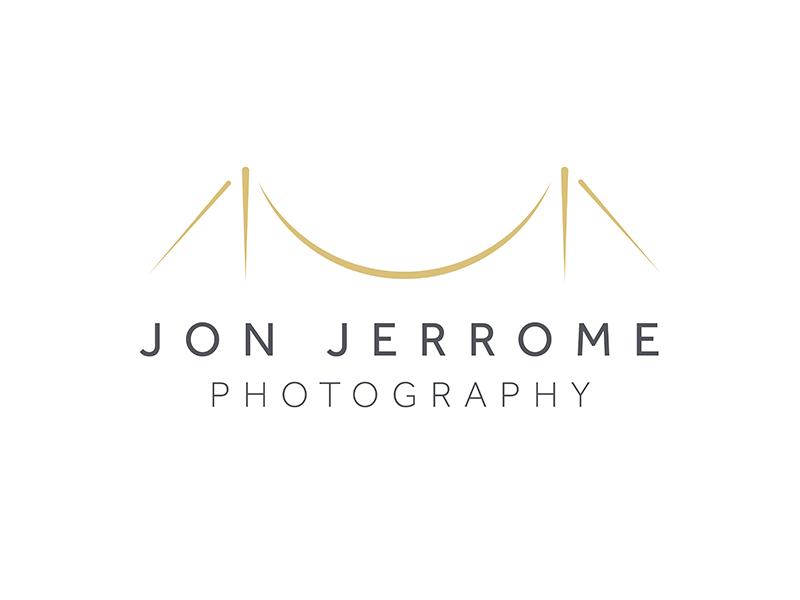 Jon Jerrome Photography photography graphic design logo