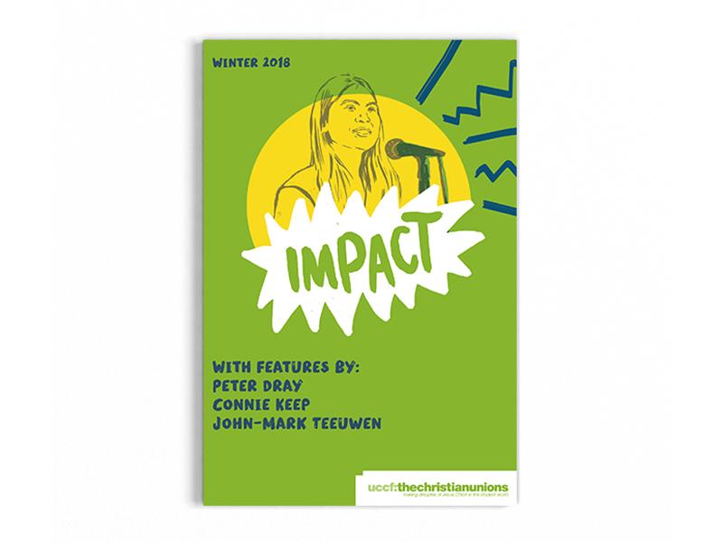 Impact print design graphic design editorial design