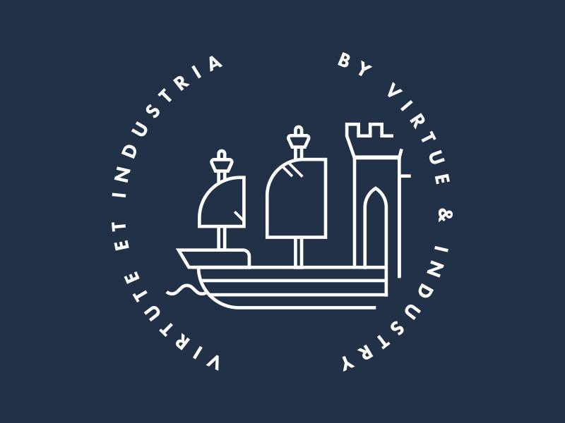 Virtue & Industry design bristol illustration