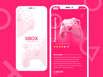 Xbox UI - Mobile UI ios game casual game gameui game best design inspiration new cool mobile ui typography colors course illustration branding ui clean ui best mobile web