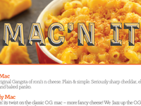 Mac'n It Menu
