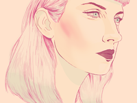 Portrait of Molly Nilsson