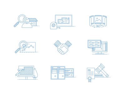 Real Estate Software Iconset 01