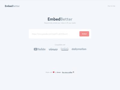 EmbedBetter