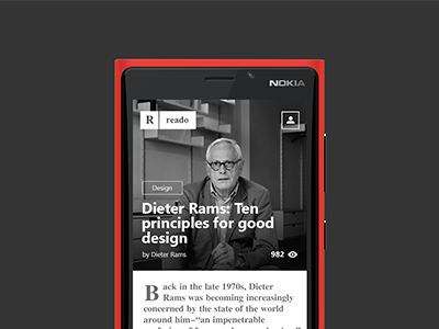 Windows Phone App