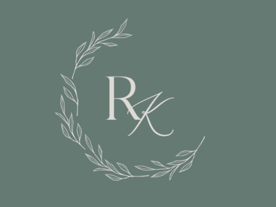 R&K Wedding Monogram