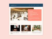 Online Magazine Web Design
