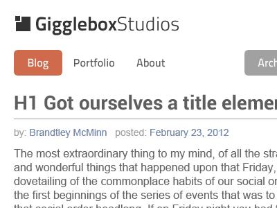GiggleboxStudios 2012