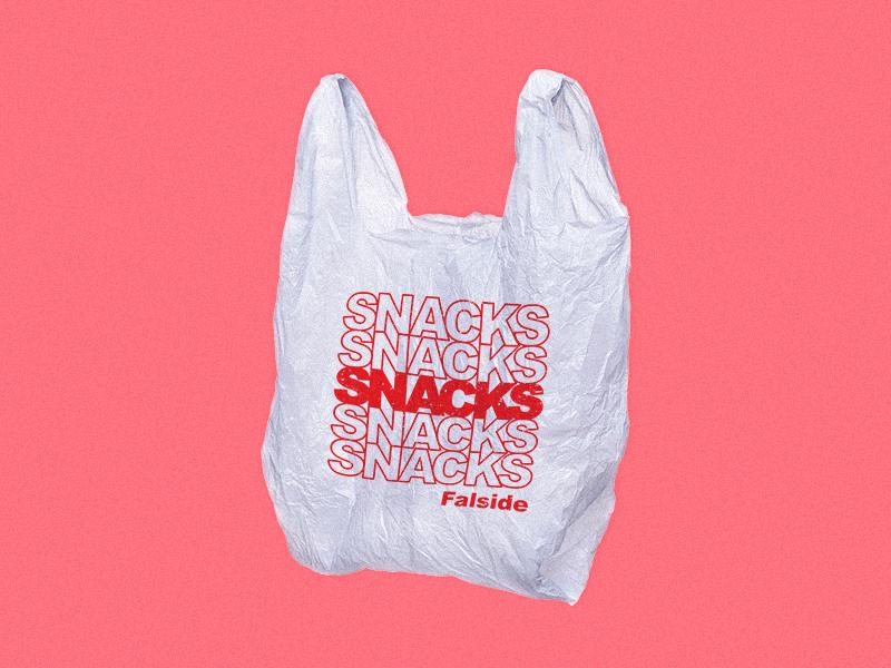 Falside - Snacks graphic cover album design falside york new bodega