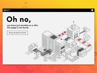 404 Page is not found ux 404 illustration ui web