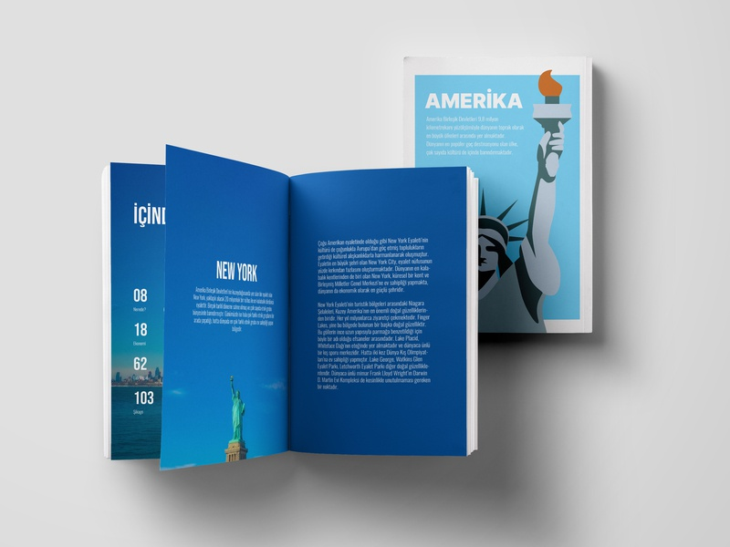 Travel Guide graphic  design cover page book