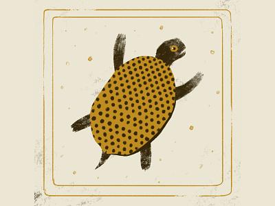 Turtle | Animeux Serie illustration ocean animal tortoise turtle logo sea turtle character design character art characterdesign farhay florian farhay painting turtle illustration turtle character animal illustration turtle