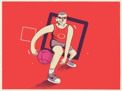 Basketball Player dunk process sketches nike shoes nike hello dribbble characterdesign character design baller sportwear sport player sports sport character dribbler debut shot debutshot debut basketball player basketball illustration