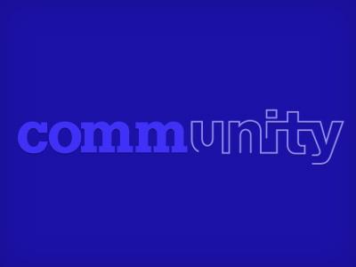 Type Treatment wordmark word logo lines shades purple font type