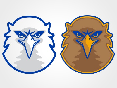 Attack of the Golden Eagle--Mascot that is logo university college animal mascot drawing graphic vector