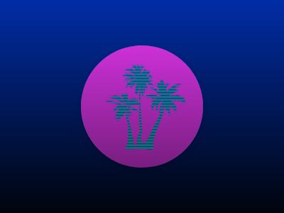 Club Vaporwave icon vaporwave ux ui
