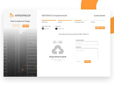 Upload Documents - Startup Design Challenge app ux ui
