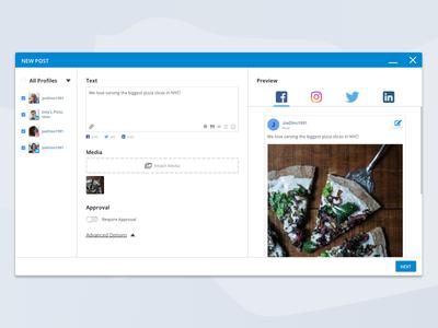 Social Media Management - Posting