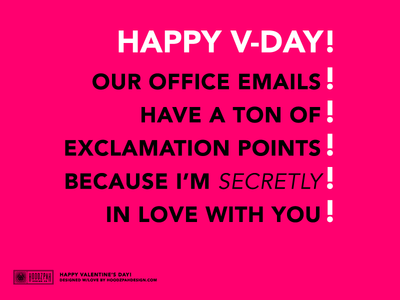 valentines day card office spouse