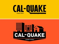 Cal-Quake Construction - Logo Options