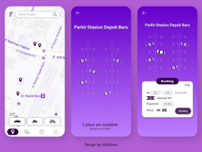 Parking iOS App