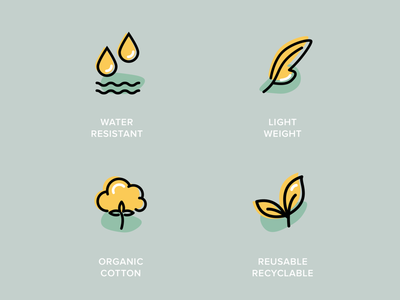 New icons for a toddler backpack brand